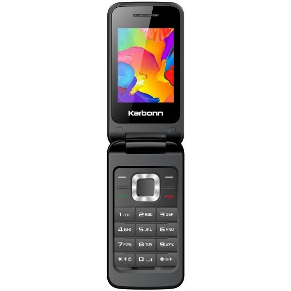Telefon Dual SIM Karbonn K-Flip black