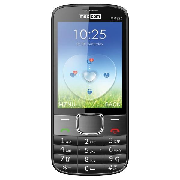 Telefon Maxcom MM 320 dark grey