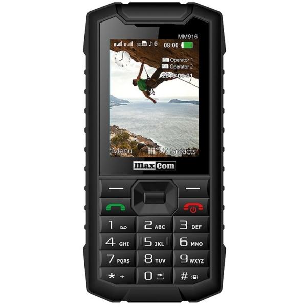 Telefon Maxcom MM916 3G Dual SIM black