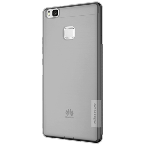 Capac protector Nillkin nature silicon black pt Huawei P9 Lite