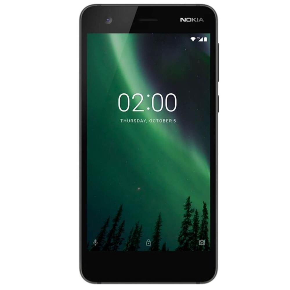 "Smartphone Nokia 2 5"""" Dual SIM 4G 4100mAh 8GB black"