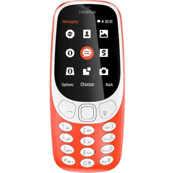 Telefon Nokia 3310 (2017) Dual SIM red