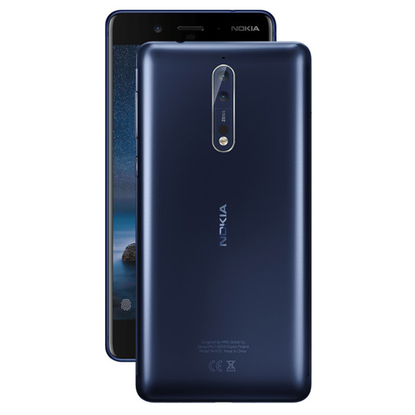 Smartphone Nokia 8 5.3 Dual SIM 4G Octa-Core 4GB RAM 64GB tempered blue