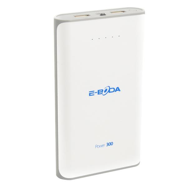 Baterie externa E-Boda Power 300 10000 mAh white