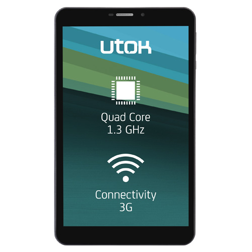 Tableta UTOK Hello 8Q HD 8GB 3G Black