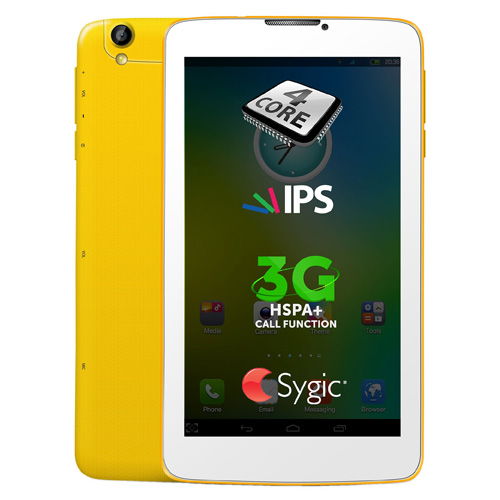 Tableta Allview Viva H7 Life 3G 8GB white/yellow