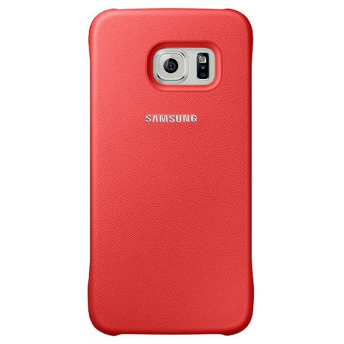Capac protector Samsung Protective Cover red pt Galaxy S6