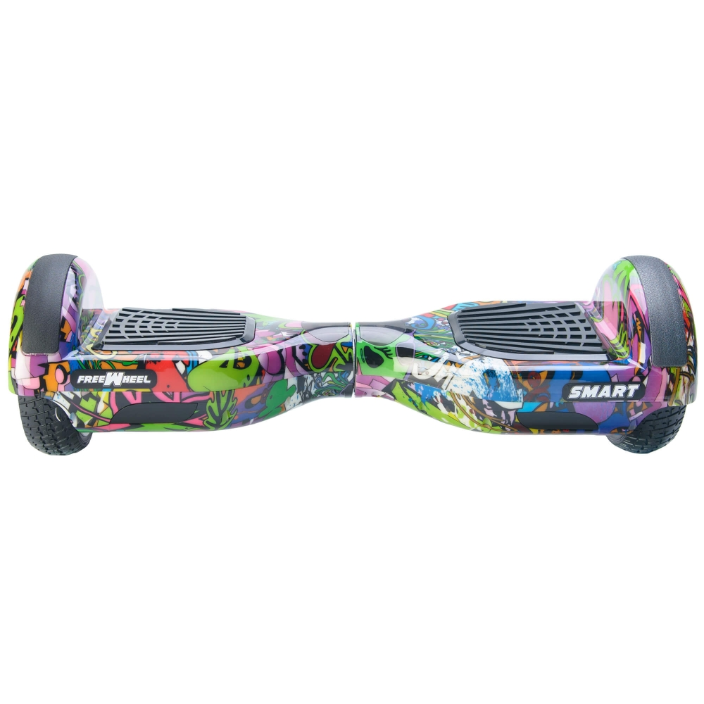 Scooter Electric (Hoverboard) Freewheel SMART - Graffiti purple