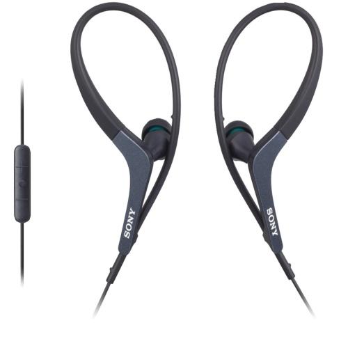 Casti cu fir si microfon Sony MDR AS400IP black
