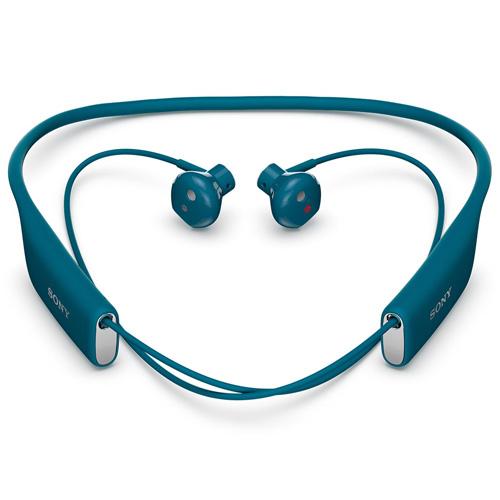 Casti Bluetooth Sony SBH70 NFC stereo blue