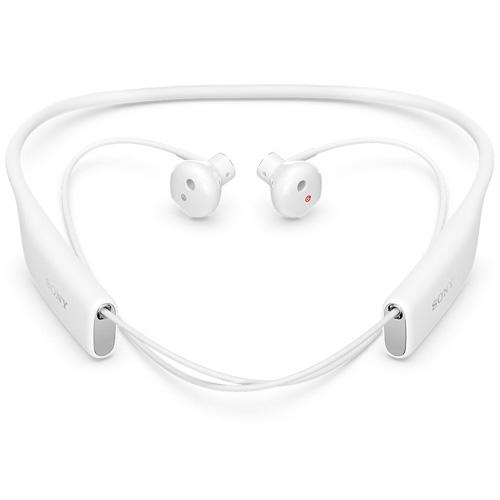 Casti Bluetooth Sony SBH70 NFC stereo white