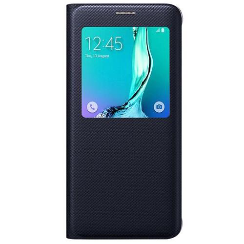 Husa Samsung S-view Cover EF-CG928PBEGWW pt G928 Galaxy S6 Edge Plus dark blue