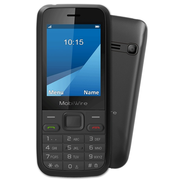 Telefon MobiWire Pictor black
