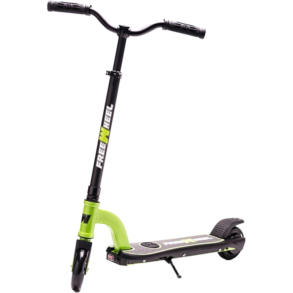 Trotineta Electrica Freewheel Rider Kids green