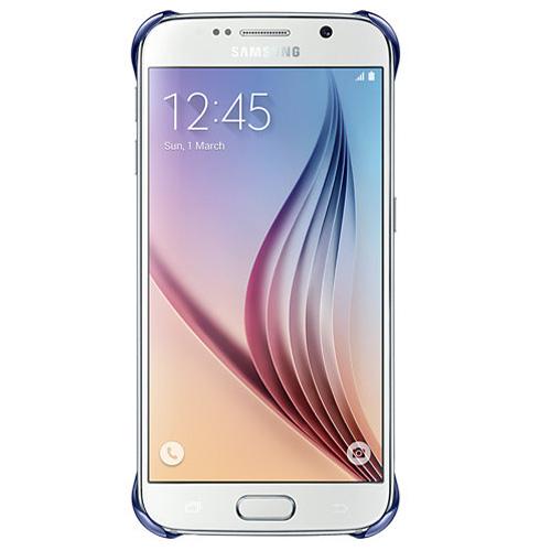 Capac protector Samsung Clear Cover pt G920 Galaxy S6 dark blue