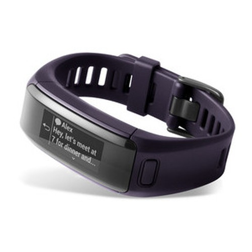Bratara Garmin VivoSmart HR activity tracker regular purple