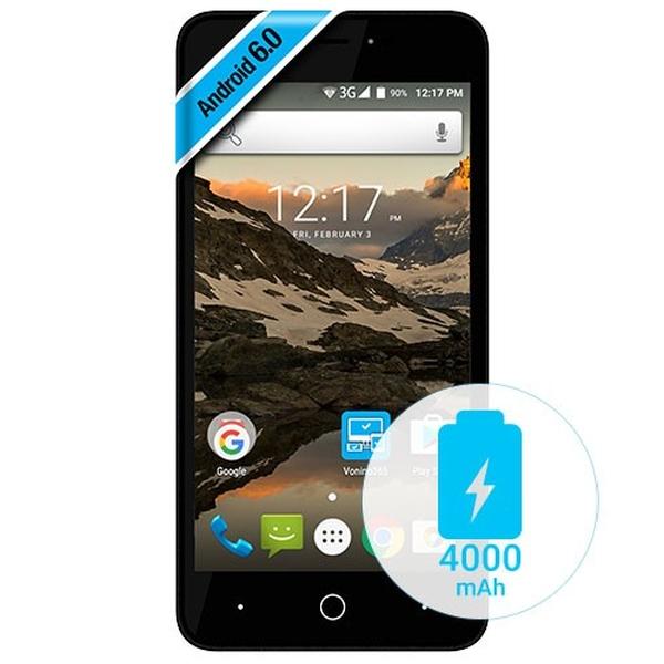 Smartphone Vonino Volt S 3G Dual SIM 5 Quad-Core 8GB dark blue
