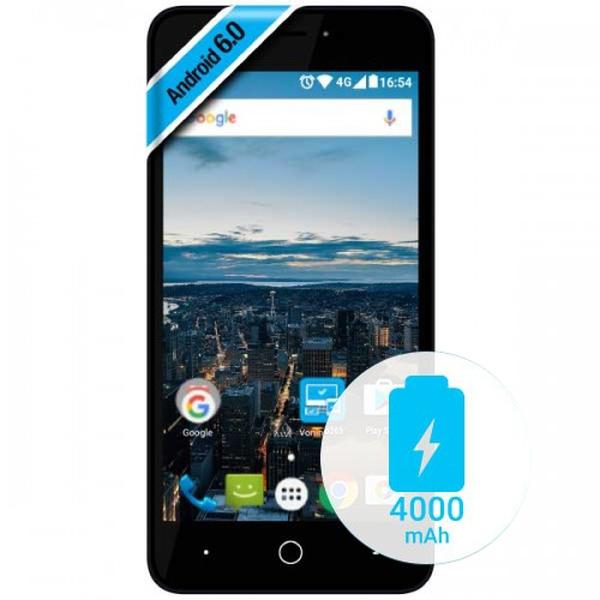 Smartphone Vonino Volt X 4G Dual SIM 5 Quad-Core 8GB dark blue