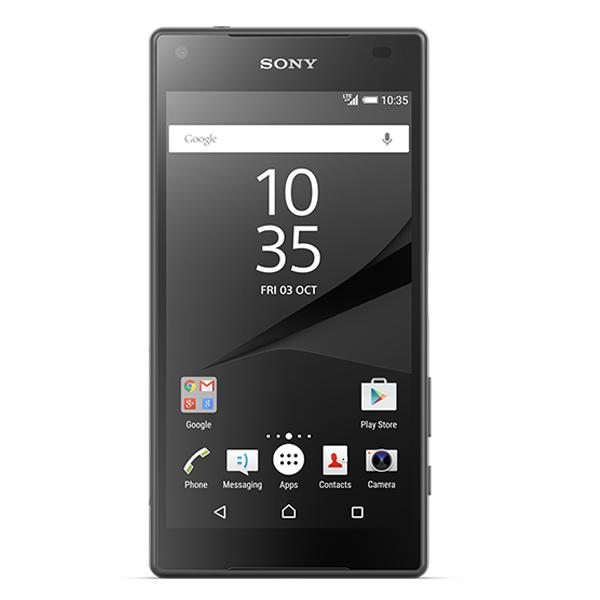 Smartphone Sony Xperia Z5 Compact LTE 32GB black Resigilat