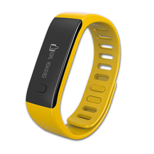 Bratara MyKronoz Zefit smart fitness yellow