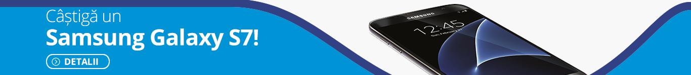 Castiga un Samsung Galaxy S7